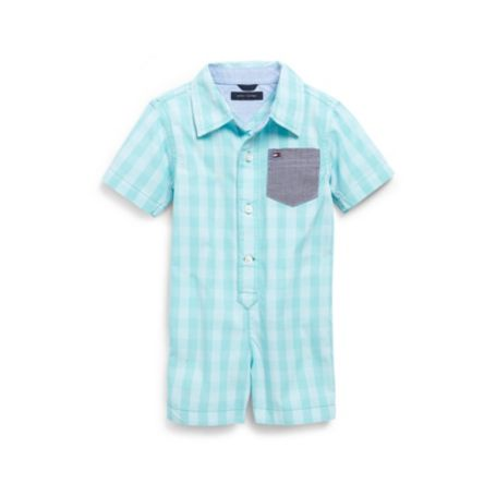 Image for GINGHAM ONESIE from Tommy Hilfiger USA