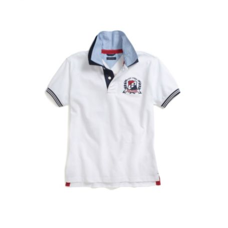 Image for HILFIGER 8 GRAPHIC POLO from Tommy Hilfiger USA