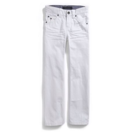 Image for SLIM STRAIGHT WHITE JEANS from Tommy Hilfiger USA