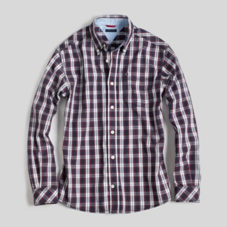 Image for REGGIE PLAID SHIRT from Tommy Hilfiger USA