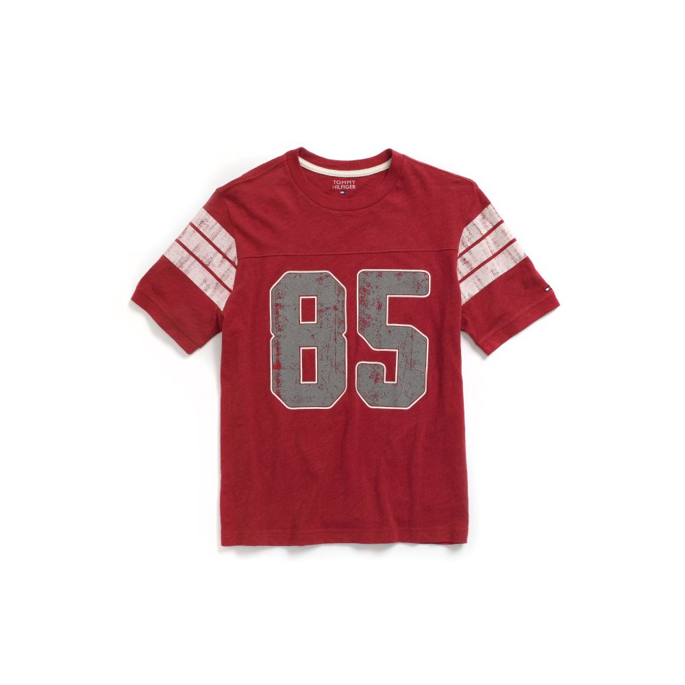 Image for 85 FOOTBALL TEE from Tommy Hilfiger USA