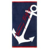 OVERSIZED ANCHOR BEACH TOWEL $19.99