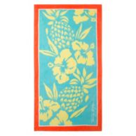 PINEAPPLE BEACH TOWEL $19.99