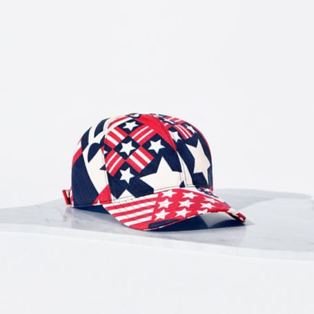 Tommy Hilfiger Patterned Baseball Cap