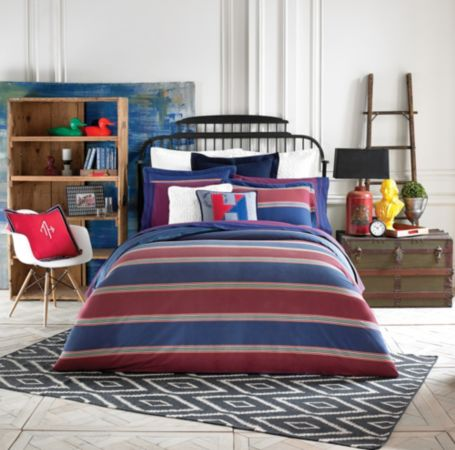 Image for AMHERST STRIPE COMFORTER SET from Tommy Hilfiger USA