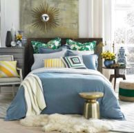 MODERN SANDS CHAMBRAY COMFORTER SET $99.99 - $149.99