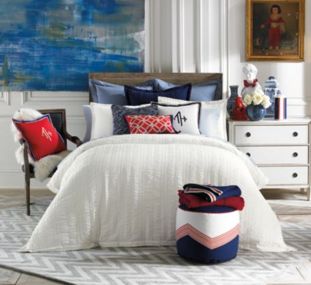Image for CLASSIC SEERSUCKER DUVET from Tommy Hilfiger USA