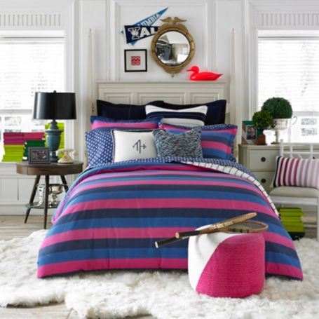 Image for VARSITY STRIPE COMFORTER SET from Tommy Hilfiger USA