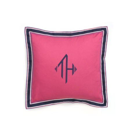 Image for MONOGRAM DECORATIVE PILLOW from Tommy Hilfiger USA