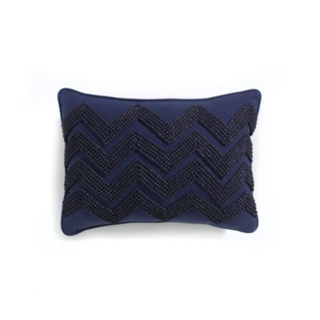 Image for BEADED CHEVRON ACCENT PILLOW from Tommy Hilfiger USA