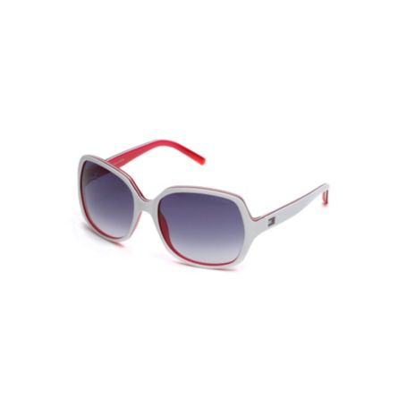 Image for SQUARE PLASTIC SUNGLASSES from Tommy Hilfiger USA