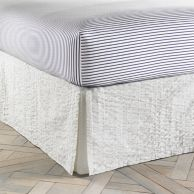 MODERN SANDS SEERSUCKET BEDSKIRT $59.99 - $89.99