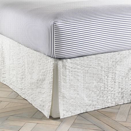 Image for MODERN SANDS SEERSUCKET BEDSKIRT from Tommy Hilfiger USA