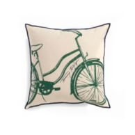 BICYCLE DECORATIVE PILLOW $39.99