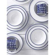 4-PIECE BLUE STRIPE DINNERWEAR SET $59.99