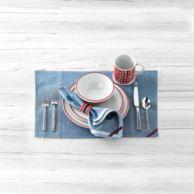 4-PIECE RED STRIPE DINNERWEAR SET $59.99