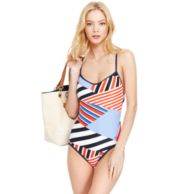 PATCHWORK ONE PIECE $59.99