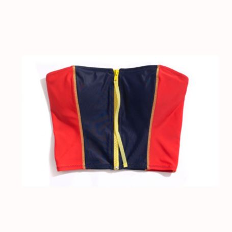 Image for ZIPPER FRONT BANDINI from Tommy Hilfiger USA