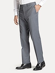 타미 힐피거 바지 Tommy Hilfiger Regular Fit Suit Pant In Solid Grey,GREY SOLID