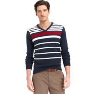 GOLF STRIPE SWEATER $100.00