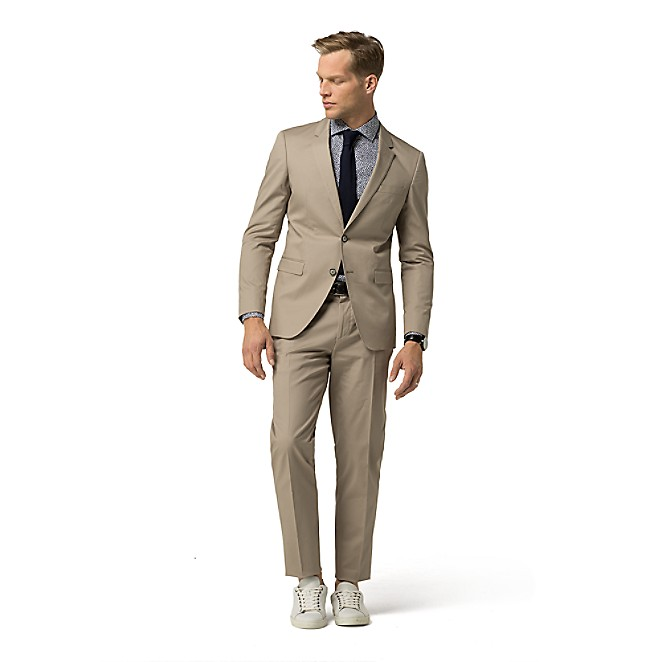 TH FLEX SLIM FIT STRETCH COTTON SUIT | Tommy Hilfiger