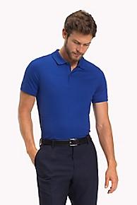 타미 힐피거 Tommy Hilfiger Pima Cotton Polo,MAZARINE BLUE
