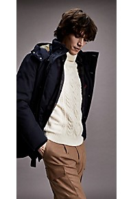타미 힐피거 Tommy Hilfiger Tailored Insulated Parka,SKY CAPTAIN