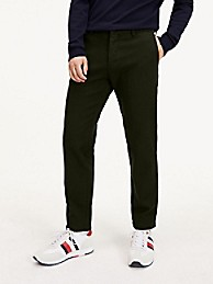 타미 힐피거 Tommy Hilfiger Slim Fit Stretch Cotton Trouser