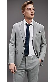 타미 힐피거 정장 자켓 Tommy Hilfiger Regular Fit Virgin Wool Blazer,HEATHER GREY