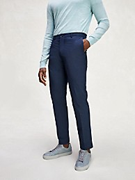 타미 힐피거 Tommy Hilfiger Slim Fit TH Flex Pant,DESSERT SKY