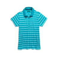 GOLF STRIPE POLO $78.00