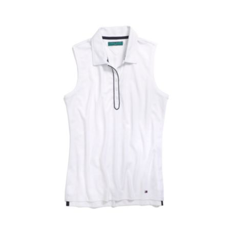 Image for SLEEVELESS GOLF POLO from Tommy Hilfiger USA