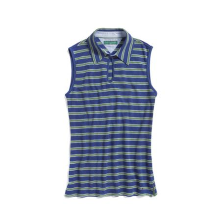 Image for GOLF SLEEVELESS STRIPE POLO from Tommy Hilfiger USA