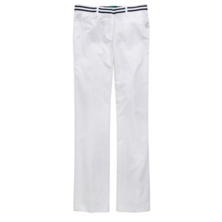 CROPPED SOLID TROUSER