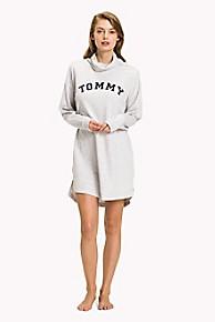 타미 힐피거 Tommy Hilfiger Track Dress,WHITE HEATHER