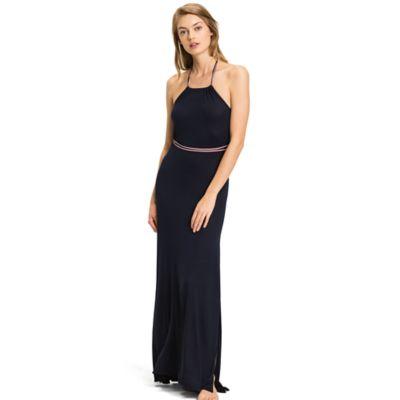 Maxi dress marineblauw