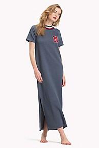 타미 힐피거 Tommy Hilfiger T-Shirt Lounge Dress,NAVY BLAZER