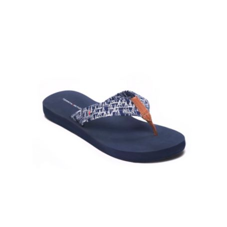 Image for SAILBOAT PRINT FLIP FLOP from Tommy Hilfiger USA