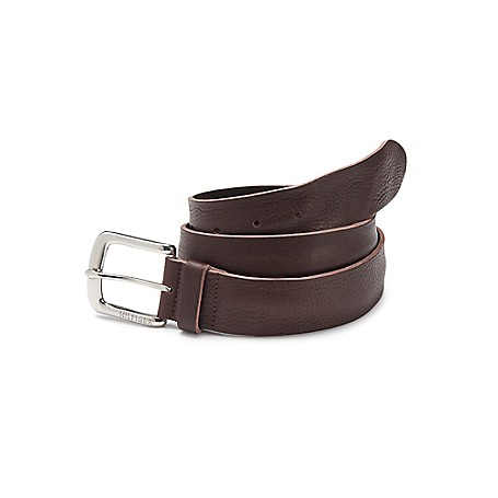 Tommy Hilfiger Leather Jeans Belt - Dark Brown Tommy Hilfiger Women's Belt. The Belt Every Girl Needs, Relaxed Yet Refined In Soft Leather That Looks Better With Age.• 100% Leather. • 1.4'' Wide.• Imported.