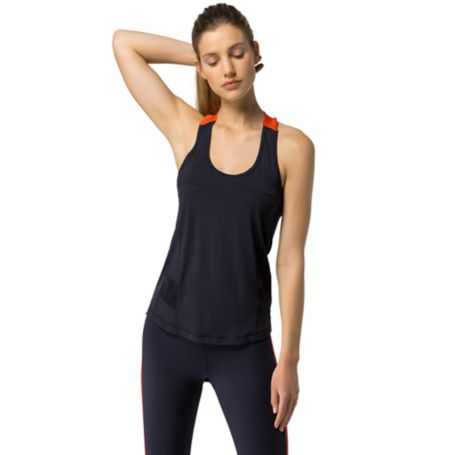 Tommy Hilfiger T-Back Tank - Flower Activewear Grenadine