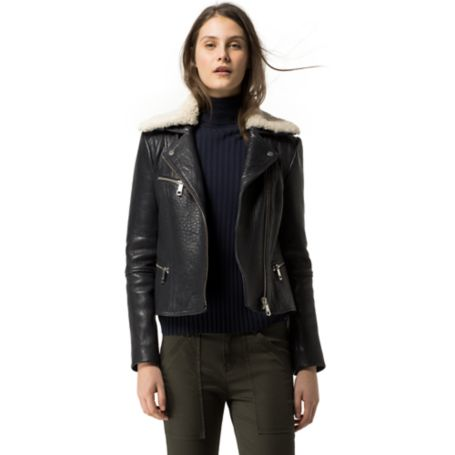 Tommy Hilfiger Vintage Biker Jacket - Midnight - 2
