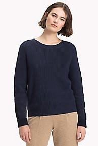 타미 힐피거 Tommy Hilfiger Wool Colorblock Sweater