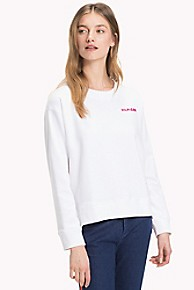 타미 힐피거 크루넥 로고 스웻셔츠 Tommy Hilfiger Crewneck Logo Sweatshirt