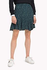 타미 힐피거 Tommy Hilfiger Light Ruffle Skirt,PONDEROSA PINE
