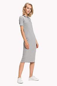 타미 힐피거 Tommy Hilfiger Hilfiger Stripe Polo Dress