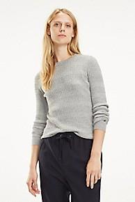 타미 힐피거 우먼 꽈배기 스웨터 Tommy Hilfiger Essential Cableknit Sweater