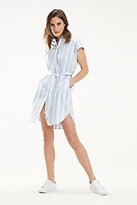 타미 힐피거 우먼 오가닉 셔츠 원피스 Tommy Hilfiger Organic Cotton Shirt Dress