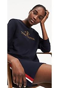 타미 힐피거 Tommy Hilfiger Logo Crest Sweatshirt