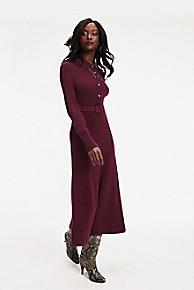타미 힐피거 젠다야 긴팔 미디 원피스 - 2 컬러 Tommy Hilfiger Zendaya Long Sleeve Midi Dress