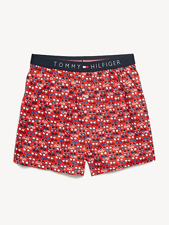 Tommy Hilfiger Mens Underwear Woven Boxers Boxer Shorts